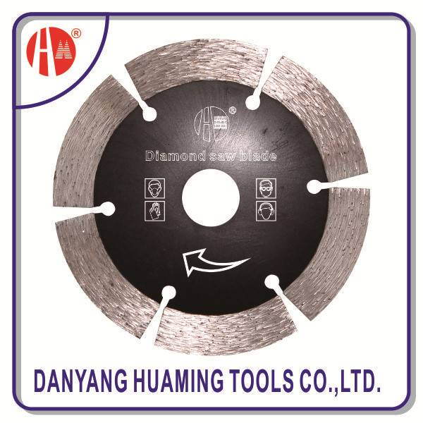 China danyang high quality diamond saw blades cutting Disc for marble, stone ,concrete