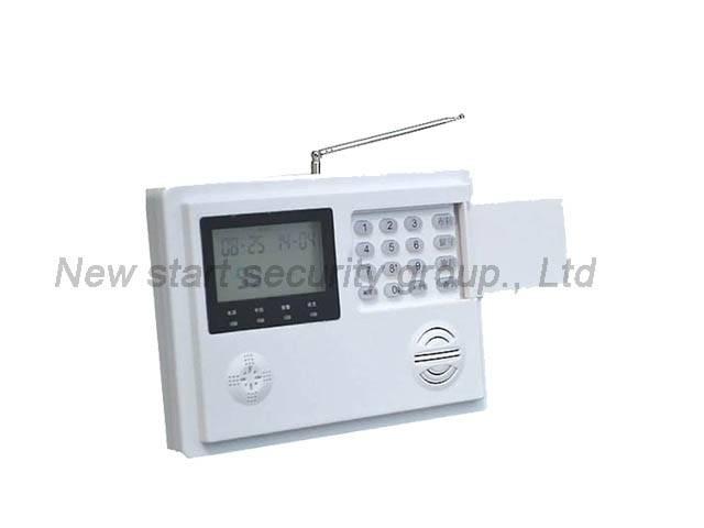 Wireless intelligent PSTN alarm system