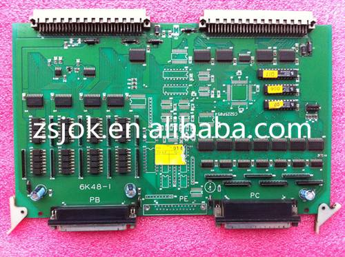 6KAD control card / Techmation C6000 controller board for Haitian injection molding machine