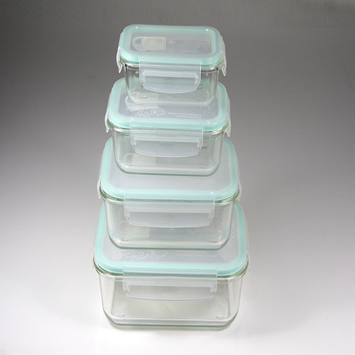 BPA Free Airtight Plastic Kitchen Storage Cotainer for Food