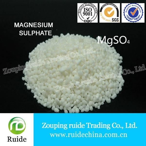 blue granule/powder Magnesium Sulphate