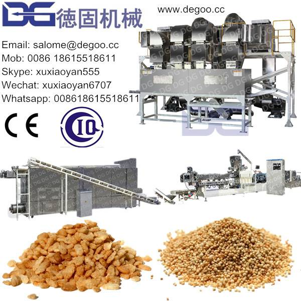 Puffed Rice Crispy Corn Puff Snack Food Extruder Machine Production Line