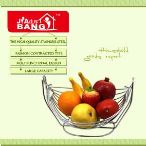 Fashion Fruit Basket with Net Cover KT119
