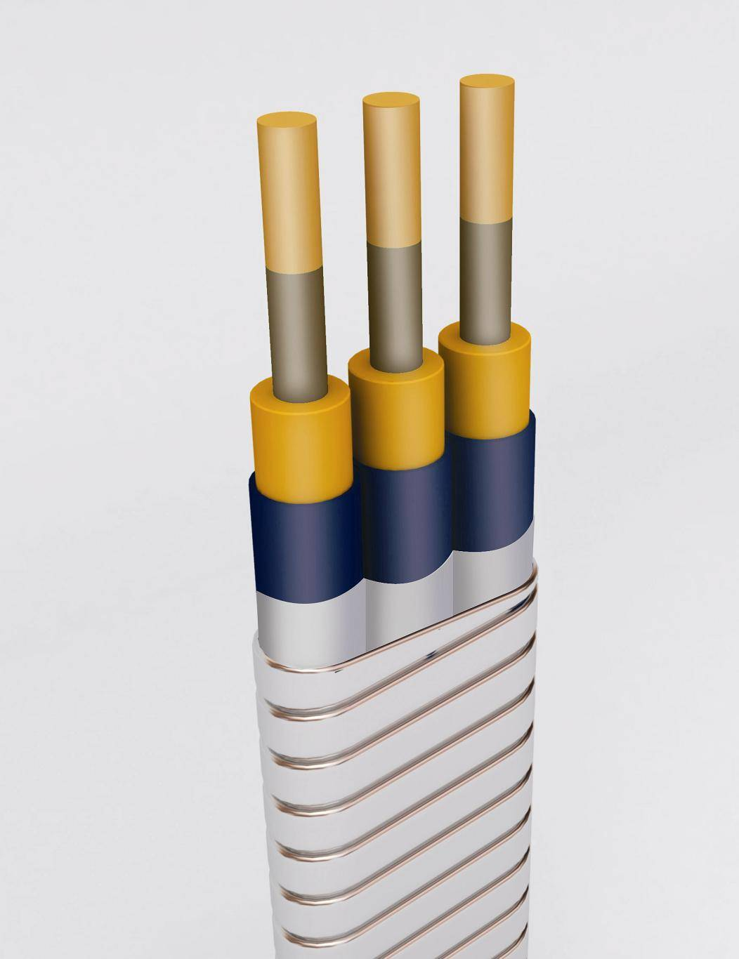 Electric submersible pump lead joint cable