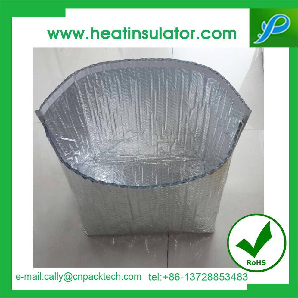 double bubble double foil protect cooler meat thermal packaging box liner
