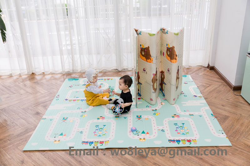 Chenxi padded crawling play mat/infant activity mat/newborn playmat