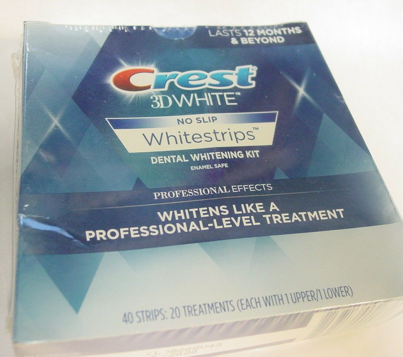 Crest 3D Whitestrips Professional Effects 40 Strips 20 Treatments
