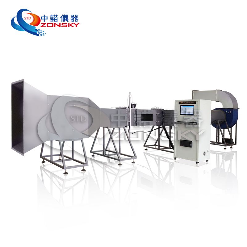 High Speed Rail or Metro Wind Tunnel Test Equipment / Educational Wind Tunnel Test Machine
