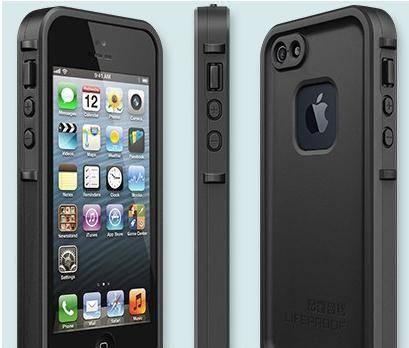 Lifeproof dustproof, waterproof, splashproof  phone case for Iphone 5 5s etc