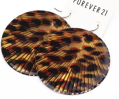 Leopard Sex Women Hook  Earrings
