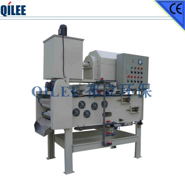 Chemical Industry Sludge Dewatering Machine SS304 Materials