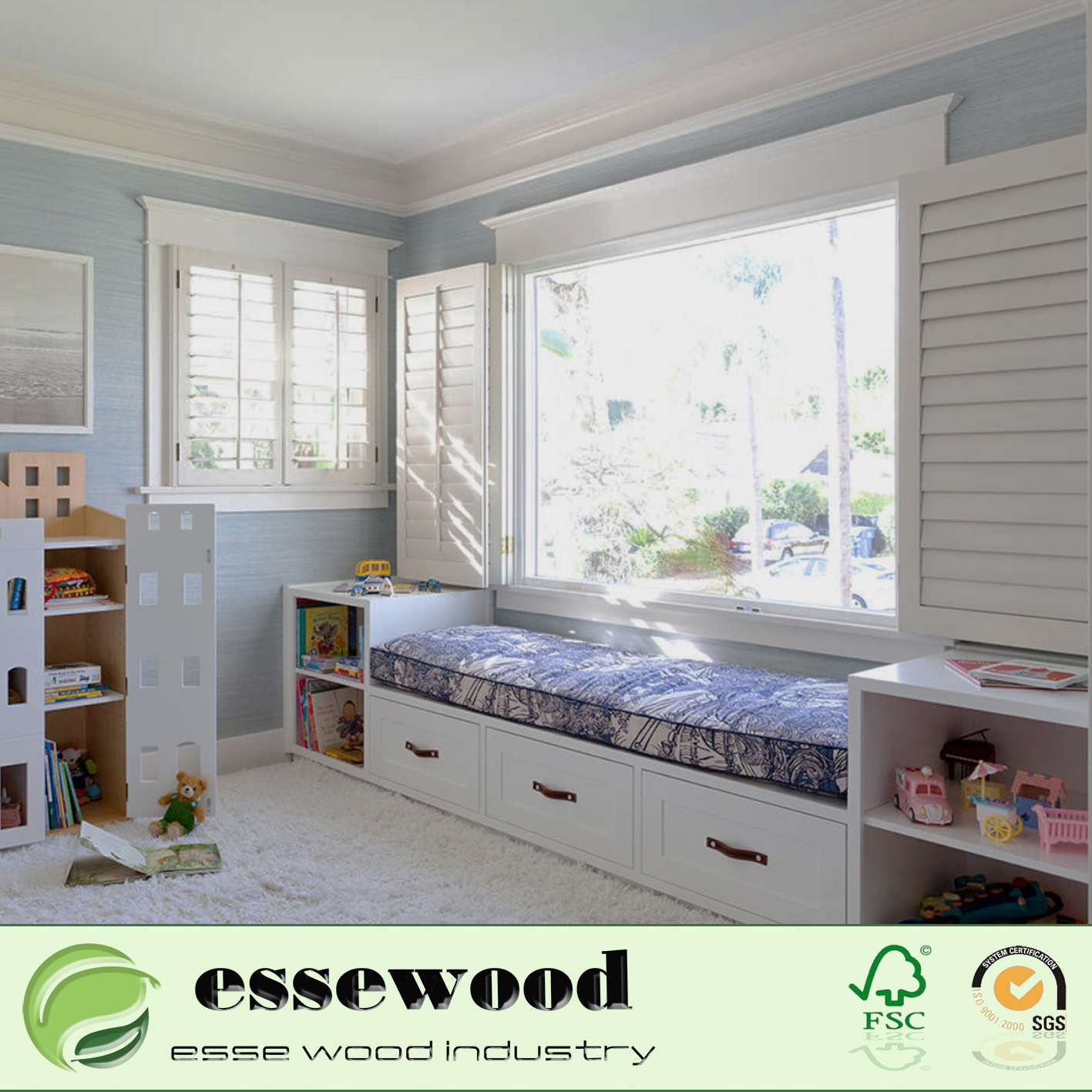 Window Wood Shutter Plantation Shutters For Bedroom Window