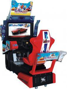 Qingfeng arcade simulator coin-operated car racing game machine