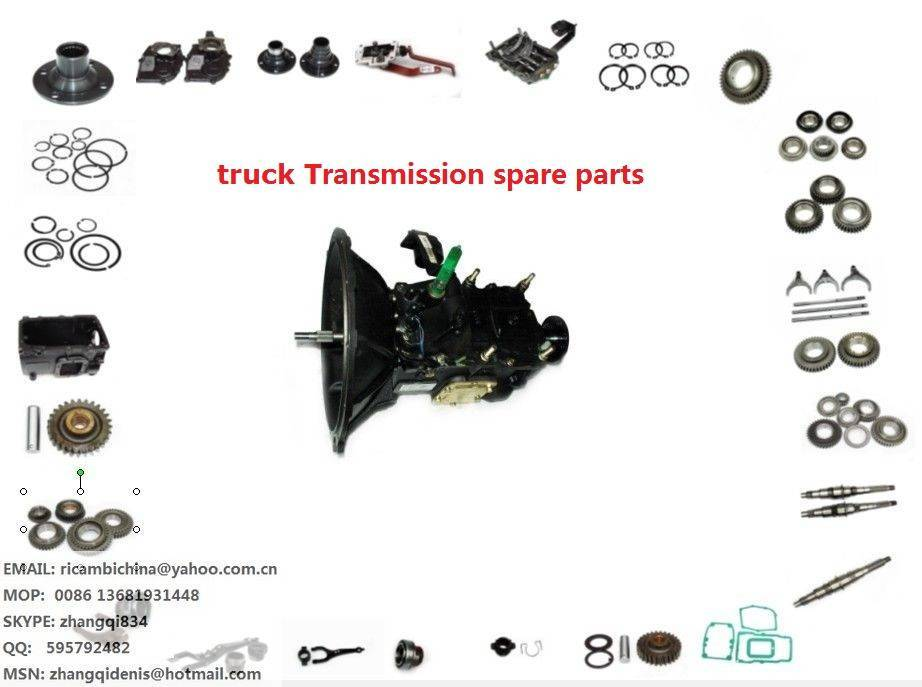JAC truck Transmission GEARBOX spare parts  LC5T88,LC5T97,LC5T30