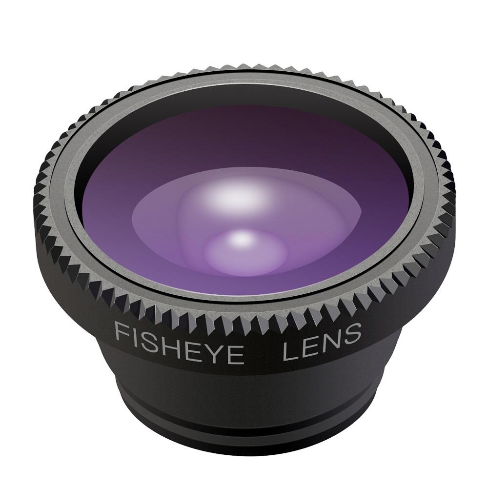 lens set with macro lens wide angle lens and fisheye lens