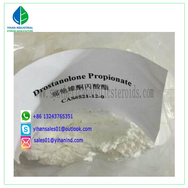High Purity Steroid Hormones powder CAS No. 521-12-0 Drostanolone Propionate Judy