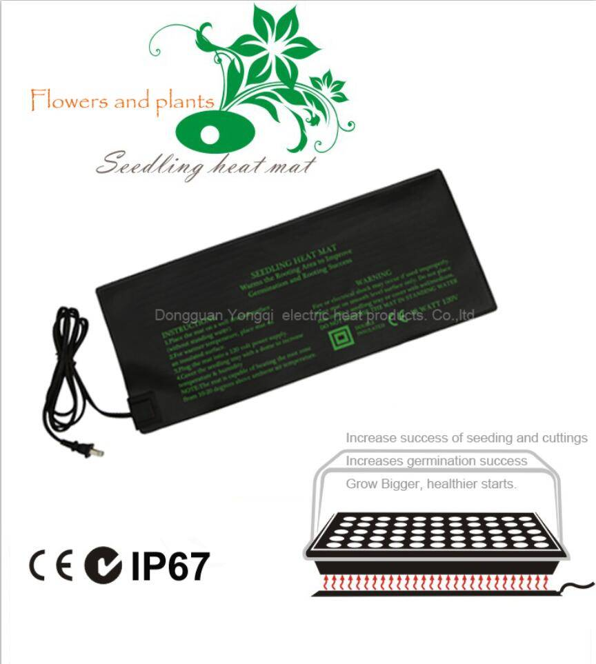 Garden seedling heat mat with preset thermostat for sale