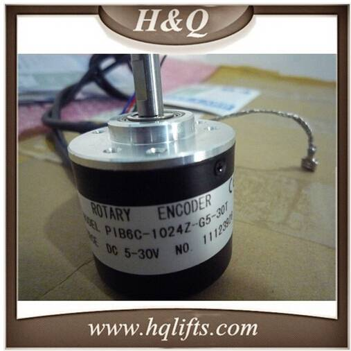 rotary encoder for HQOTIS , PIB6C-1024Z-G5-30T , elevator parts , elevator encoder