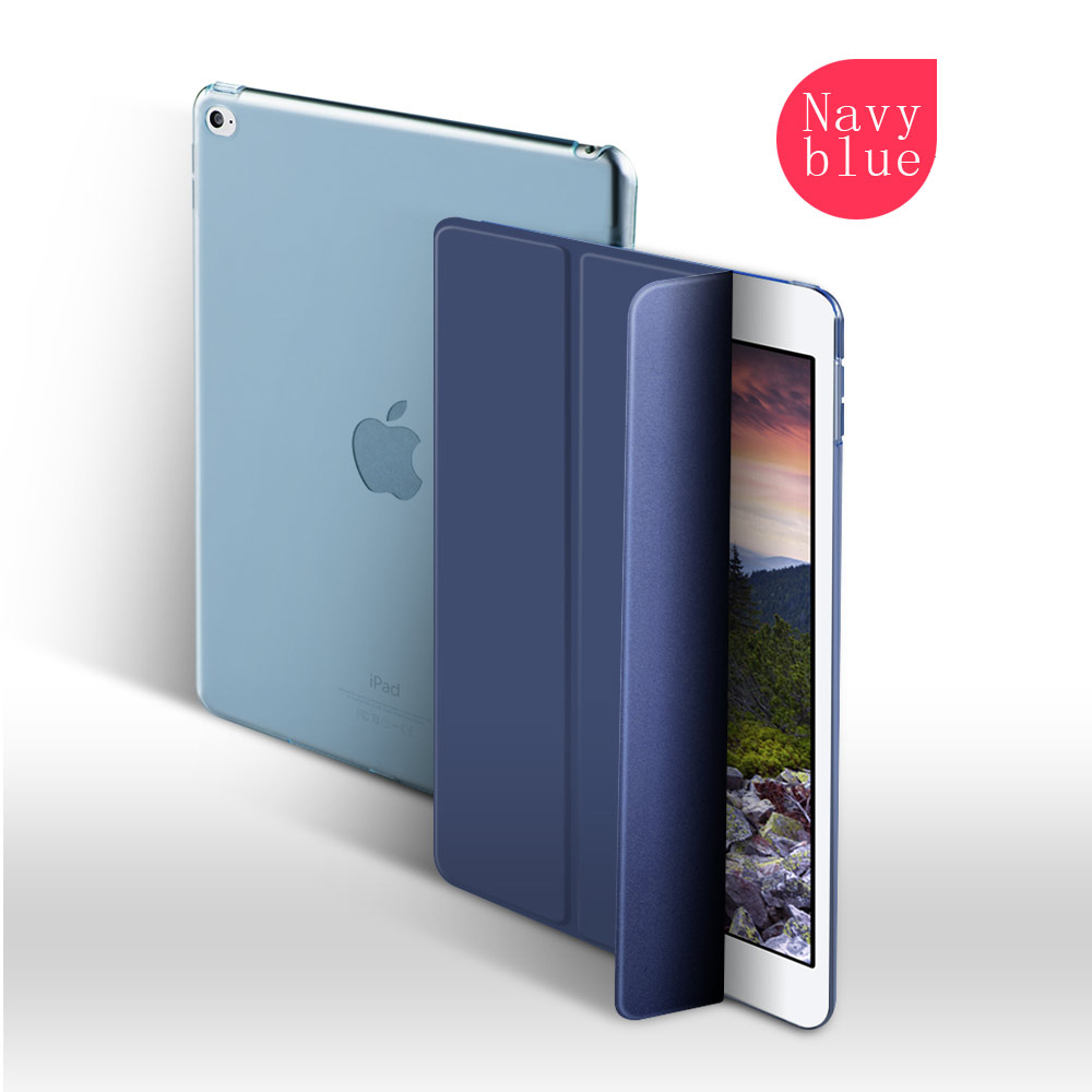 Hot Sell Smart pu leather tablet cases for ipad pro 10.5 inch for all models for iPad