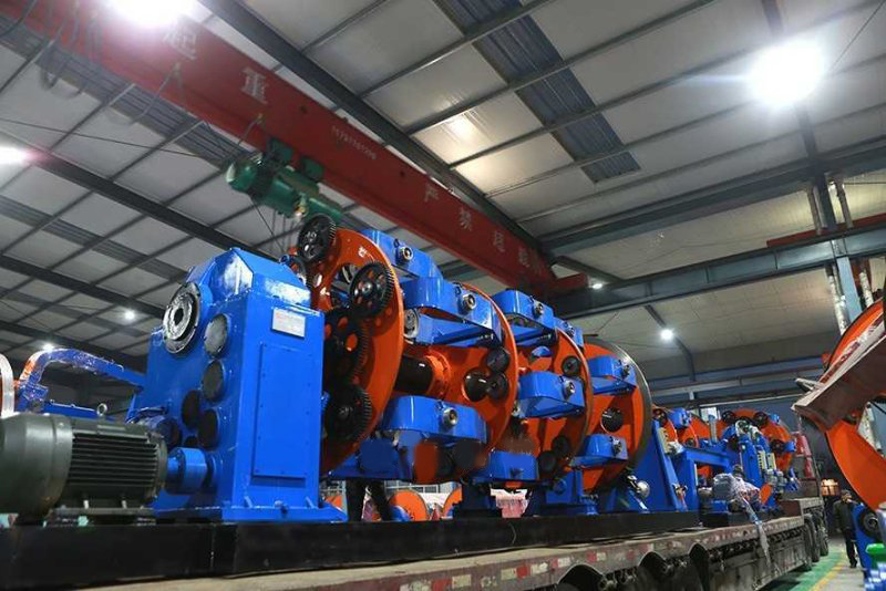 12+18+24 630Frame Wire Stranding Machine