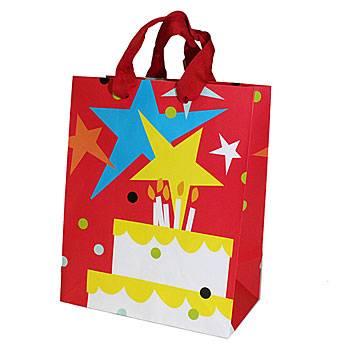 Red star gift bag paper gift bag ZD-1230