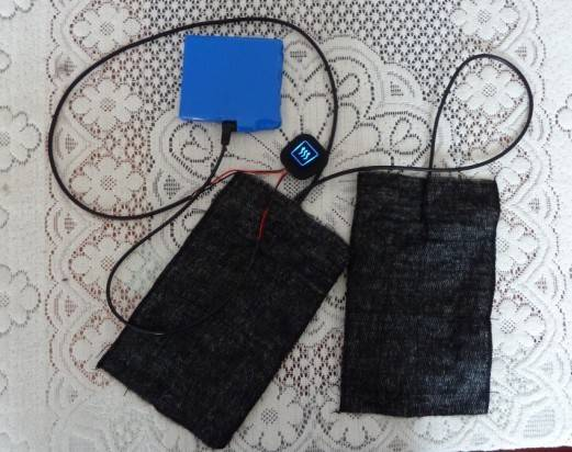 The Special Heater Sheet Of Electric Heating Vest.