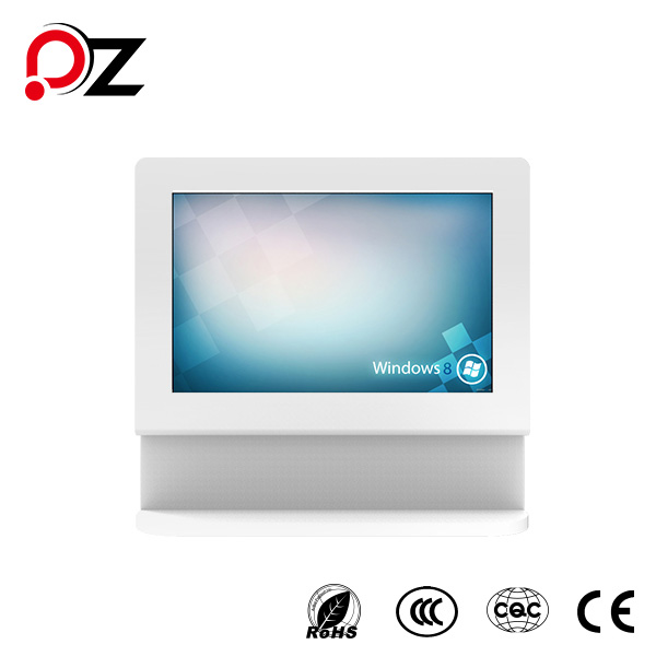 Alloy Frame Digital Touch Monitor Information Machine