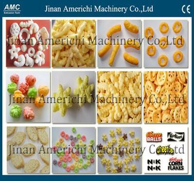 Cheese puffs/Puffed corn snack food making machine