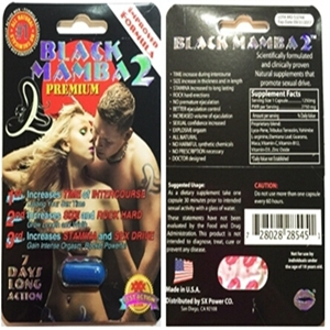 new black mamaba 2 sex medicine capsules for men penis