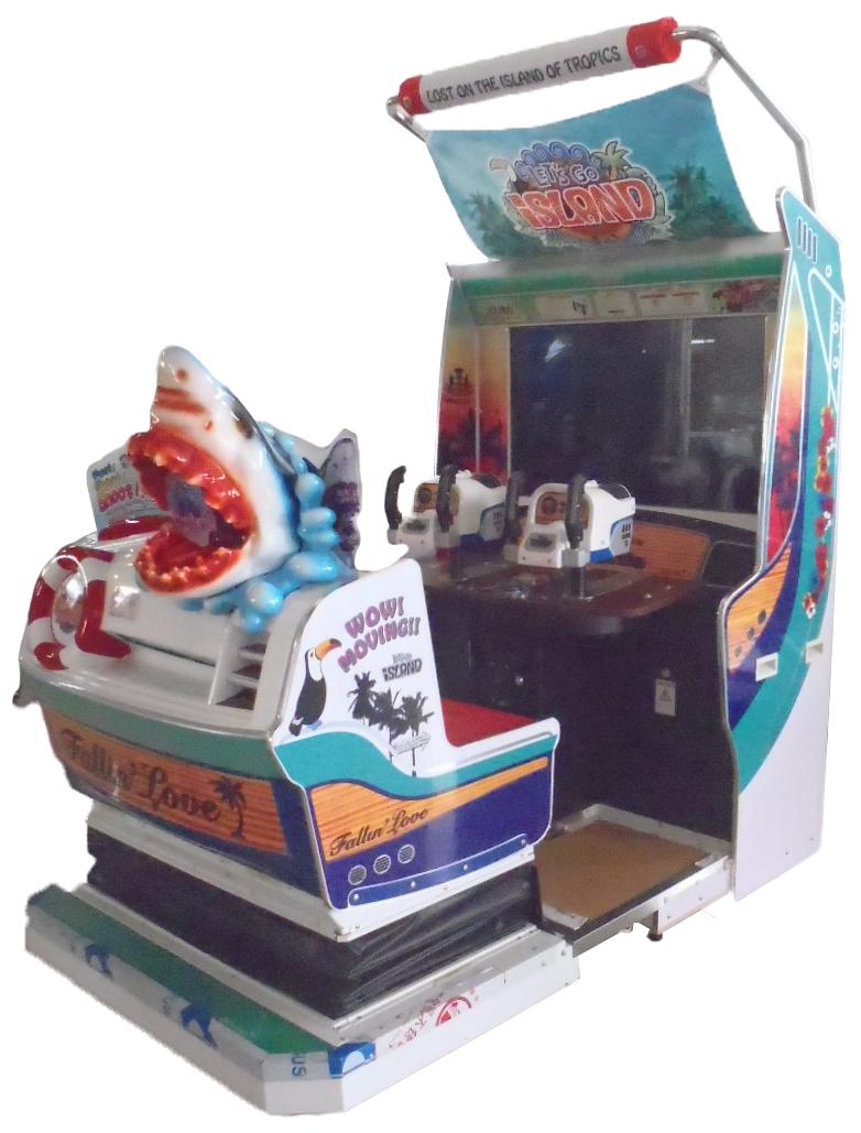 Let's Go Island Amusement Equipment Arcade Game Machine Shooting Dedicated Machine