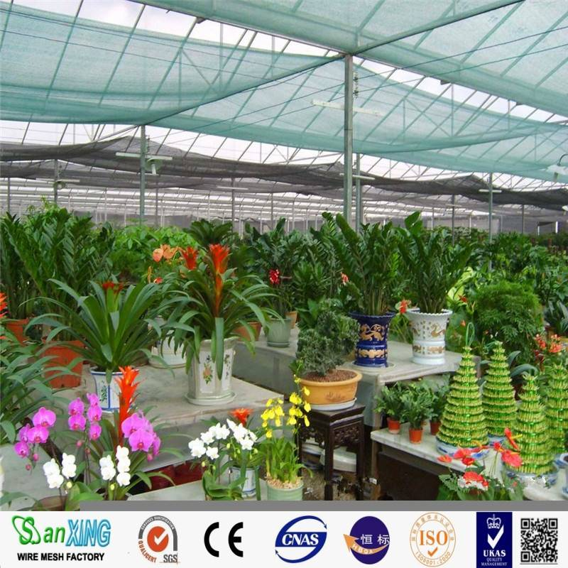 Vegetable garden sun shade netting/hdpe sunshade nets/shade net house