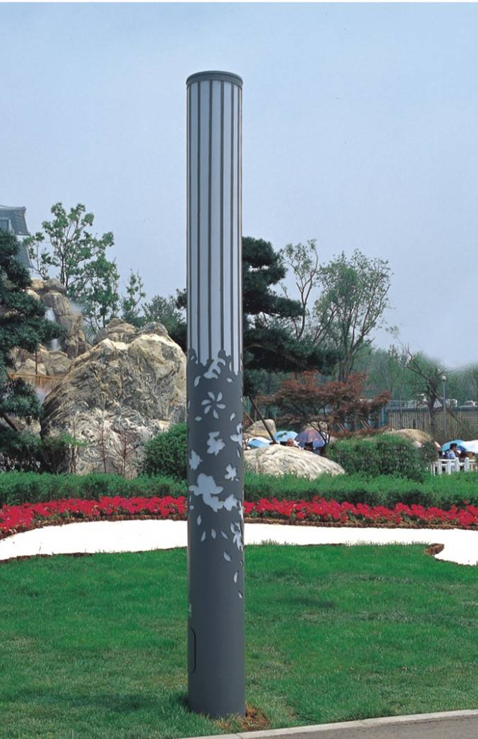 Garden Light with 3-4M Pole