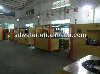 Automatic PET Bottle Blow Molding Machine for Hot-filling SDH Series
