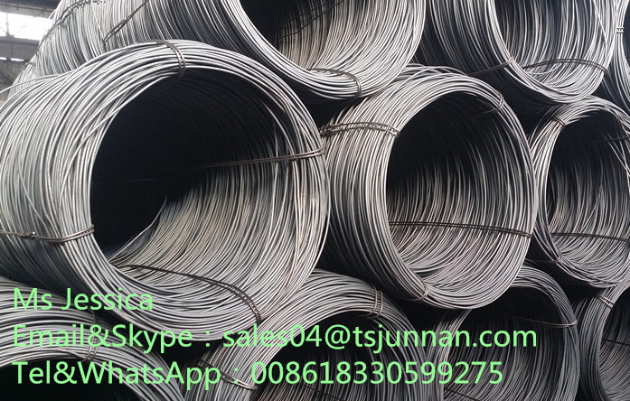 high quality wire rod SAE1006 SAE1008 SAE1018 Low carbon steel wire rod