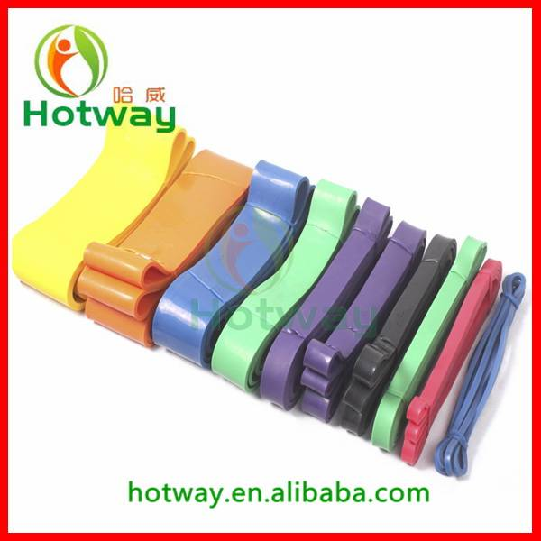 Resistance Band China Wholesale 100% Latex Exercise Loop Band Non-toxic Yoga Band Loop