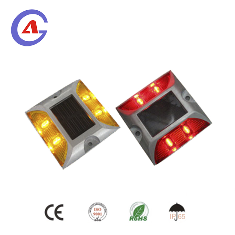Solar cat eye reflectors aluminum reflective solar road stud