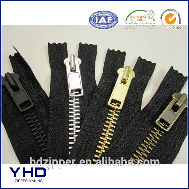 metal zipper chain, OEM available
