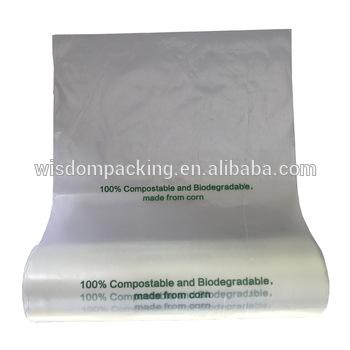 biodegradable falt bag
