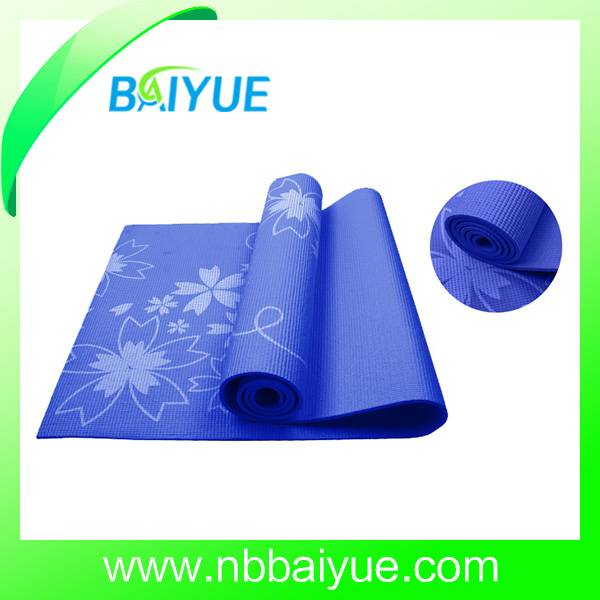 Customized full print pvc yoga mat