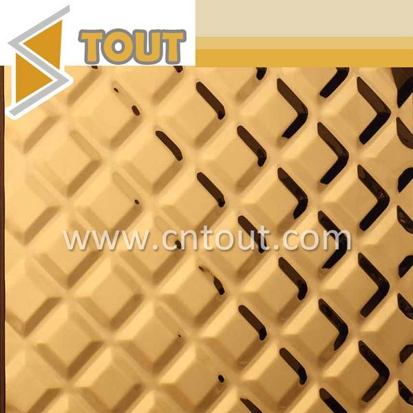 201 304 316 Color PVD Decorative Stainless Steel Sheet