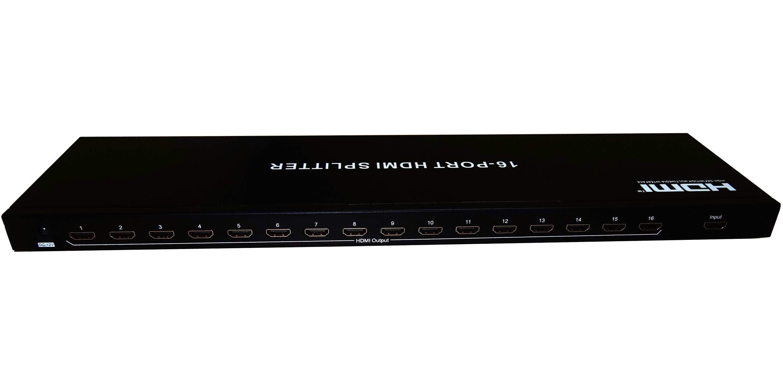 HDMI Splitter 1x16 support Full 3D&4Kx2K HDMI1.4V