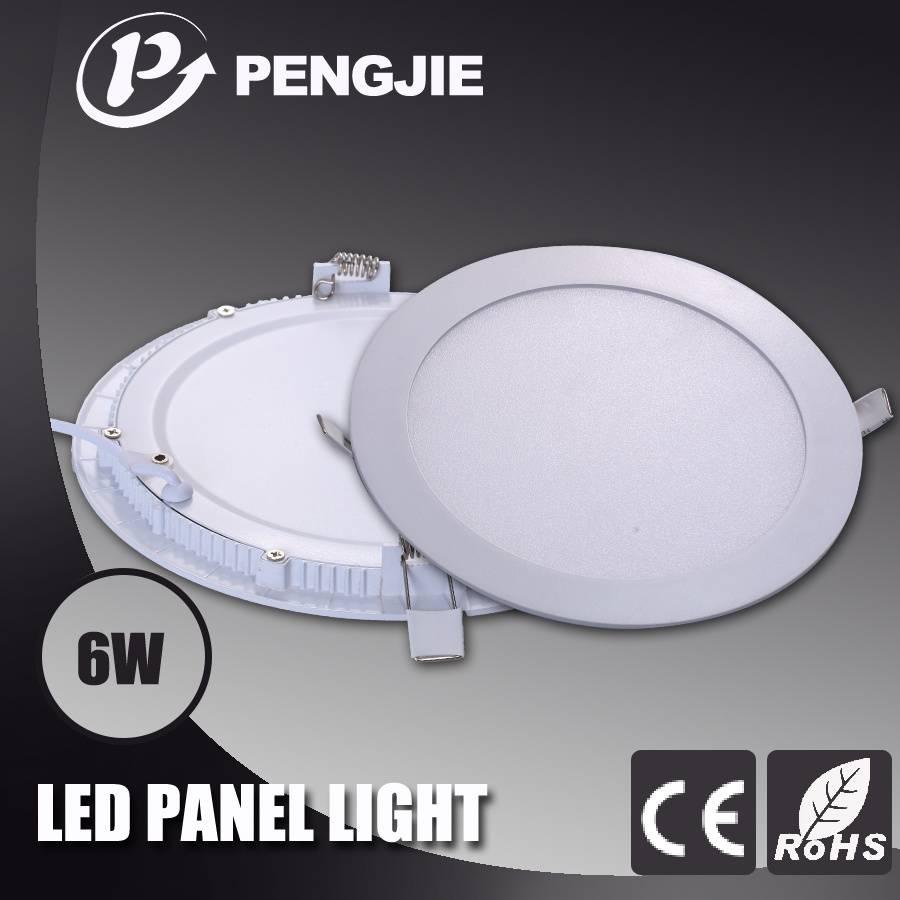 PengJie LED Panel light-6W-Round