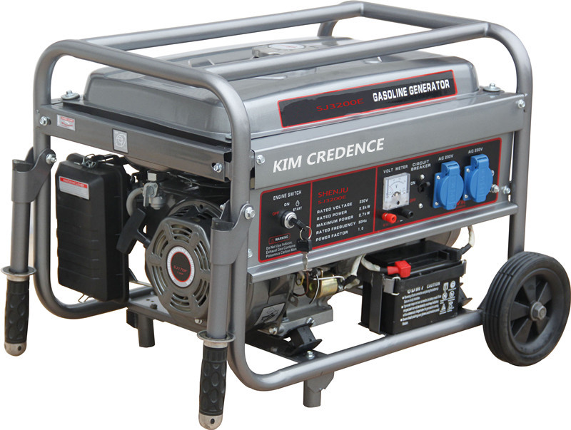 2.8KW Gasoline generator sets with electric Start with high quality