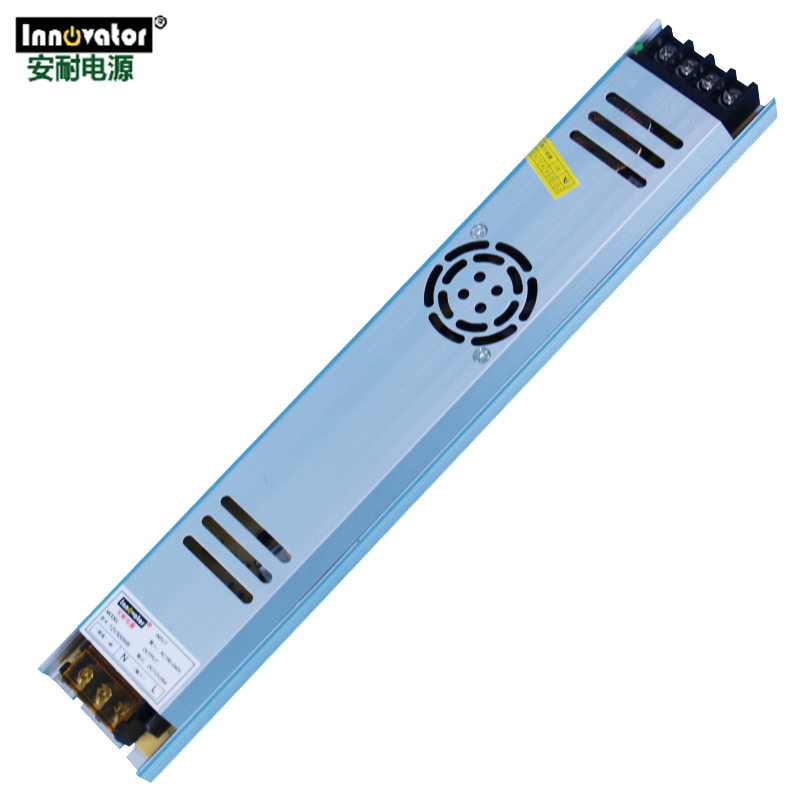 DC12V 300W Ultra Thin Power Supply 25A Constant Current with Fans