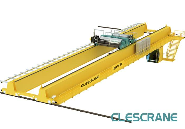 CWD Series Double Beam Electric Trolley Workshop Overhead Bridge Cranes For Sale $1000-$20000