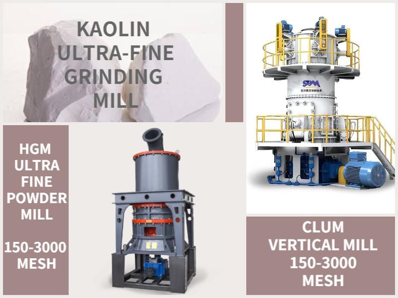 Kaolin Ultrafine Grinding Mill