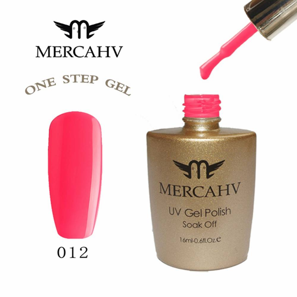 MERCAHV Multiple Colors Soak Off One Step UV Nail Gel Polish