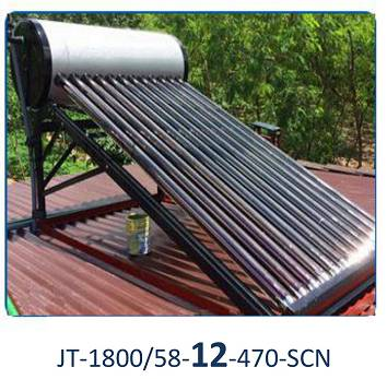 Jiangsu Jinta 12 Tubes Non-Pressurized Solar Water Heater