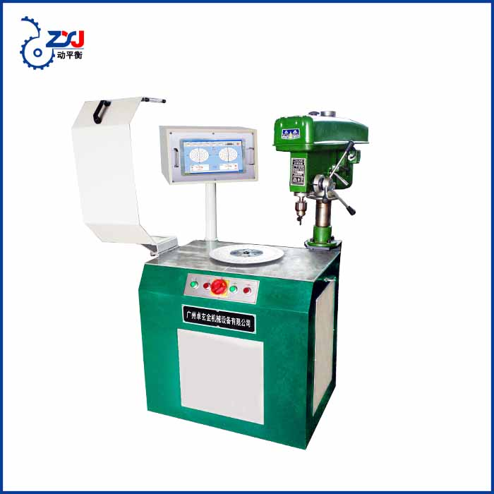 YD-16 wind wheel balancer grinding dynamic balancing machine impeler blower testing machine