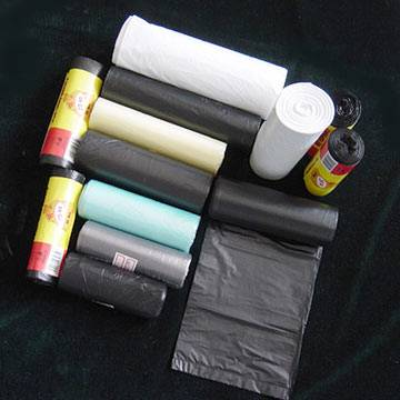 trash bags on roll